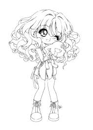 Small Picture Cute Little Anime Girls Coloring Pages coloring pages Pinterest