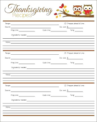 47 Thanksgiving Menu Planner Template The Gobble Guide Free