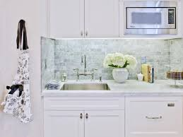 Backsplash Tile For Kitchen Subway Tile Backsplashes Pictures Ideas Tips From Hgtv Hgtv