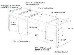 standard kitchen cabinet height