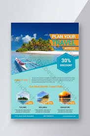 Travel Flyer Design Template Psd Free Download Pikbest