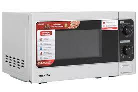 Lò vi sóng có nướng Toshiba ER-SGM20(S1)VN-Thép không gỉ sang trọngNút vặn  có tiếng Việt-Công suất:800W-Có chức năng Rã đông hâm nấu nướng Hẹn giờ nấu  Chuông báo khi nấu xong Khoang