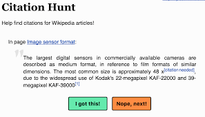 Wikiresearch On Twitter Find Missing Citations In Wikipedia With