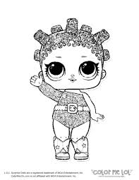 Lol Dolls Coloring Pages Punk Boy Doll Series 3 I Love You Baby New