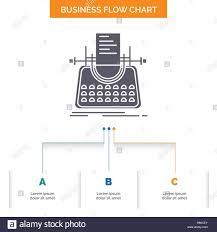 Story Flow Chart Article Blog Story Typewriter Writer Business Flow Chart