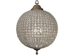 gold orb chandelier round crystal inside sphere with crystals remodel 15