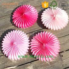 diy paper fan decor outdoor decoration diy tissue paper fan tissu on diy cupcake