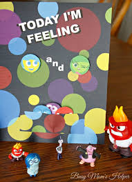 Inside Out Feelings Chart Printable Today Im Feeling Printable Emotion Chart Busy Moms Helper