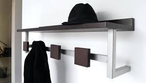 Crate And Barrel Wall Coat Rack Wall Mounted Wood Shelves Handmade Mount Rustic Coat Rack With 63