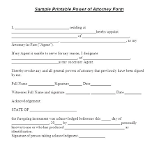 Poa Letter Power Of Attorney Letter Power Of Attorney Letter Of