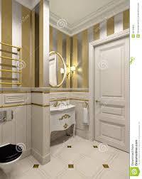 Gold Bathroom Gold Bathroom Royalty Free Stock Photo Image 26158855