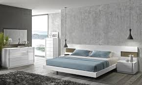 modern bedroom white. Contemporary Modern CADO Modern Furniture  AMORA Bedroom Set  In White O