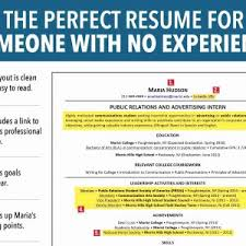 Best Sample Resume For College Student With Work Experience | Onda ...