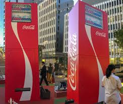 Coca Cola Vending Machine Commercial Custom CocaCola Gears Up For Tokyo 48 Olympics With Tall Vending Machine