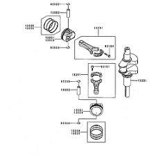 kawasaki 4 stroke engine parts model fr600vas05 sears partsdirect piston cranks