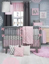 Pink Baby Crib Bedding by Sweet Potato