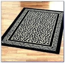 animal print rug cheetah area leopard rugs and runners