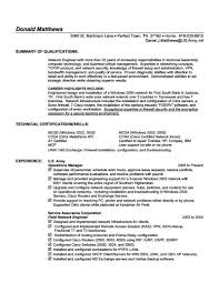 Configuration Management Specialist Resume Example Templates