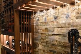 client traditional custom closet walk in wine cellar