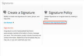 Email Signatures Bettercloud Help Center