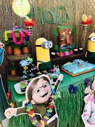 Despicable Me 3 Luau Party on Kara's Party Ideas   KarasPartyIdeas.com (15)