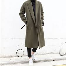 men s long wool coat outer wool cashmere trench jacket outer cashmere overcoat coat men jacket outer men s big size import 20s 30s 40 generations fashion