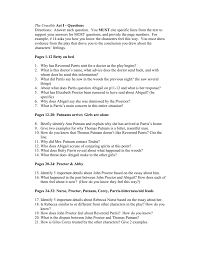 the crucible act i questions from p p