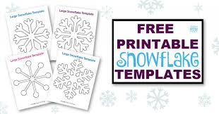Our christmas coloring sheets are a brilliant free resource for teachers and parents to use in class or at home. 8 Free Printable Large Snowflake Templates Simple Mom Project