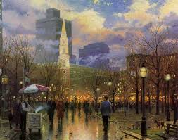 thomas kinkade boston oil painting for select your favorite thomas kinkade boston painting on canvas and frame at