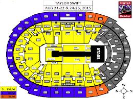 staple center seating chart concert taylor swift concert at the staples center 1989 world tour krysten
