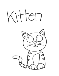 Collection Of Kitty Drawing Easy Download More Than 30