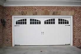 stamped carriage doors