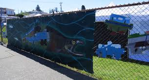 Help finish puzzle On the Fence art installation Edmonds WA