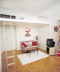 small spaces bedroom furniture. Terrific Silver Stairs And Simple Living Room For A Beautiful Small Space Bedroom Furniture Ideas Spaces