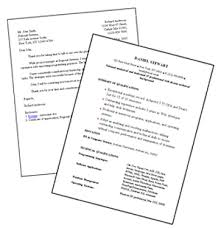Cover Letter And Resume 11 Resume And The Brilliant Difference Between Cv  Biodata Cover Letters For Job
