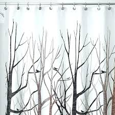 gray and gold shower curtain black and grey shower curtain shower curtain forest gray black brown