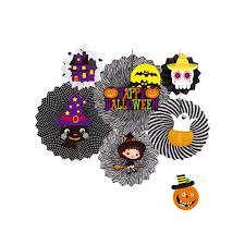 #6 transform three pumpkins into a spider with the. Halloween Decorative Wall Decoration Diy Paper Fan Flower Halloween Supplies Walmart Com Walmart Com