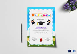 Diploma Certificate Template - 30+ Free Word, Pdf, Psd, Eps ...