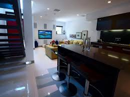 Floor Tiles For Basements HGTV - Finish basement ideas