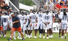 Chicago Bears Depth Chart 2018 Training Camp Chicago Bears Release First Unofficial Depth