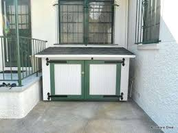 washer dryer shed outdoor and