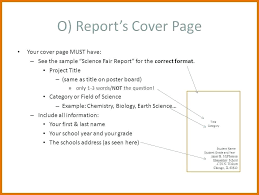 Science Report Format Scientific Report Format Science Fair Project Template Lab