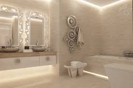 bathroom cabinet lighting. Love The LED Lighting Around Ceiling, Under Vanity , And From Behind Mirrors Bathroom Cabinet