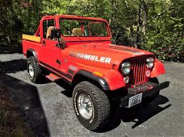 1983 jeep cj 8 scrambler frame off restoration