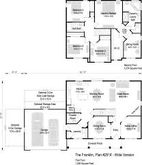 The franklin plan 2514 2514 sq ft 4 bedroom 2 5 bath floor plans