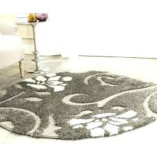 4 foot round rug awesome 4 foot round rugs with regard to 4 foot 4 foot round rug black and white home and furniture attractive 4 foot