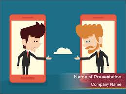 Cartoon Powerpoint Presentation Partnership Cartoon Powerpoint Template Backgrounds Google Slides
