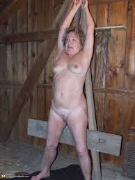 Older women naked bondage