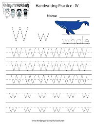 Alphabet Writing Kindergarten Printable Worksheets Numbers To Number ...