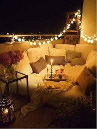 balcony lighting ideas. string up some lights to turn your balcony into a magical hideaway comfy daybed lighting ideas